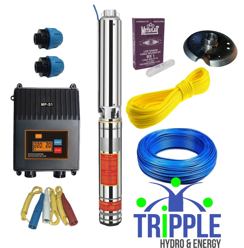 AC Borhole Kits | AC Borehole Combo's South Africa