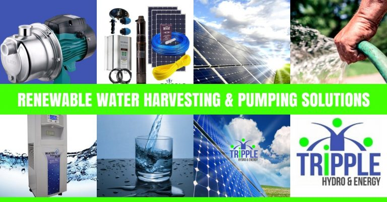 Solar Pumps South Africa | Tripple Hydro Energy Products