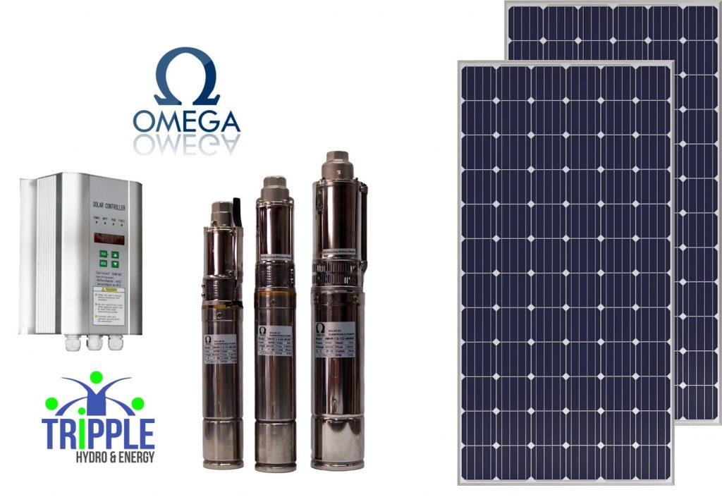 Omega DC Solar Pumps | Omega Solar Pumps