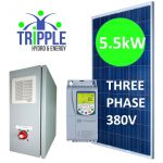 5.5kW Solar Pump Systems, Solar Conversion Pump Kits, Solar VSD Systems